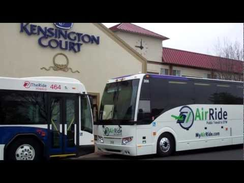 AirRide Launch Event: Buses at Kensington Court Hotel