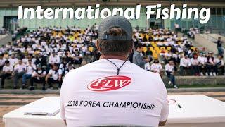 Bass Fishing is HUGE in Korea!
