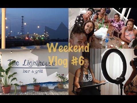 Weekend Vlog #6 | Work Mode | Saturday Night Dinner | Lagos Living