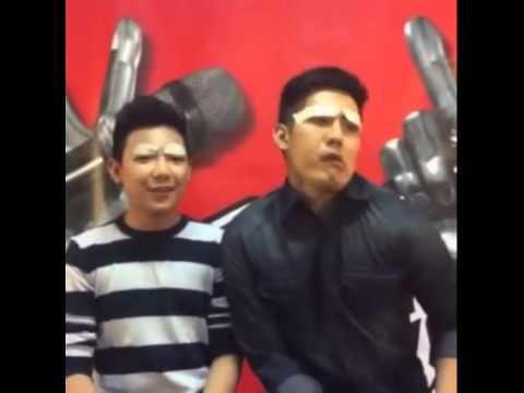 Pabebe Boys - Darren Espanto and Robi Domingo (Part2 ... Darren Espanto Life With Boys
