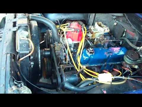 Motor V8  Ford 302  YouTube