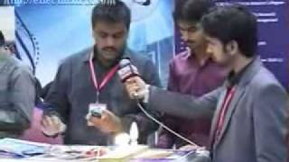 "Sukkur IBA Project ""Cell-Phone Based HACS"" on KTN-NEWS (EXPO Center )"