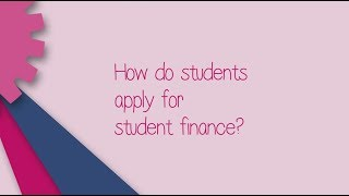 Ask SFE about how to apply for student finance - 2018/19