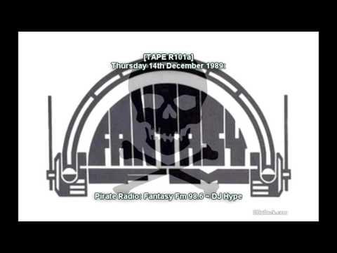 DJ Hype ~ 14/12/1989 ~ Fantasy Fm [R100a]
