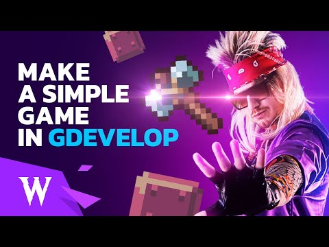 How to Create a Simple Game with Physics and Particles using GDevelop 5 - Free 2D Game Engine