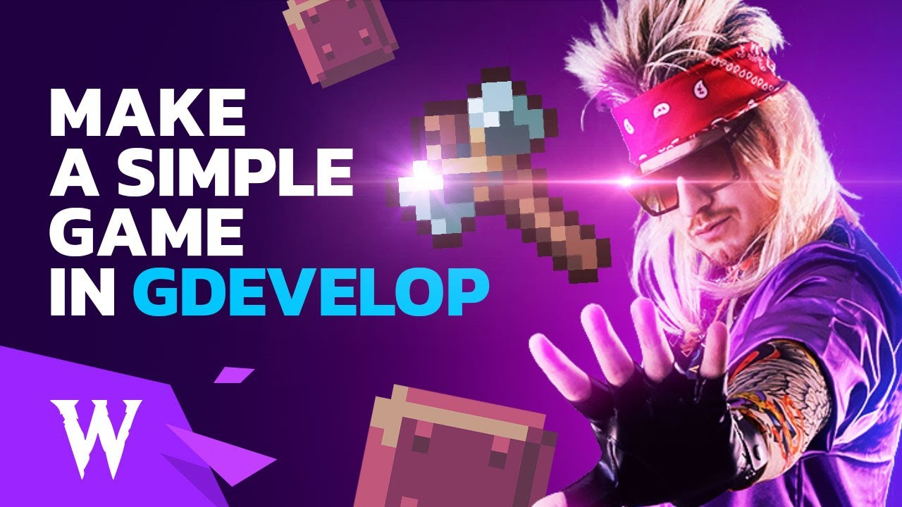 How to Make a Simple Game in GDevelop 5