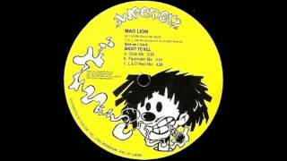 Mad Lion - Shoot To Kill (Dub Version) (1993)