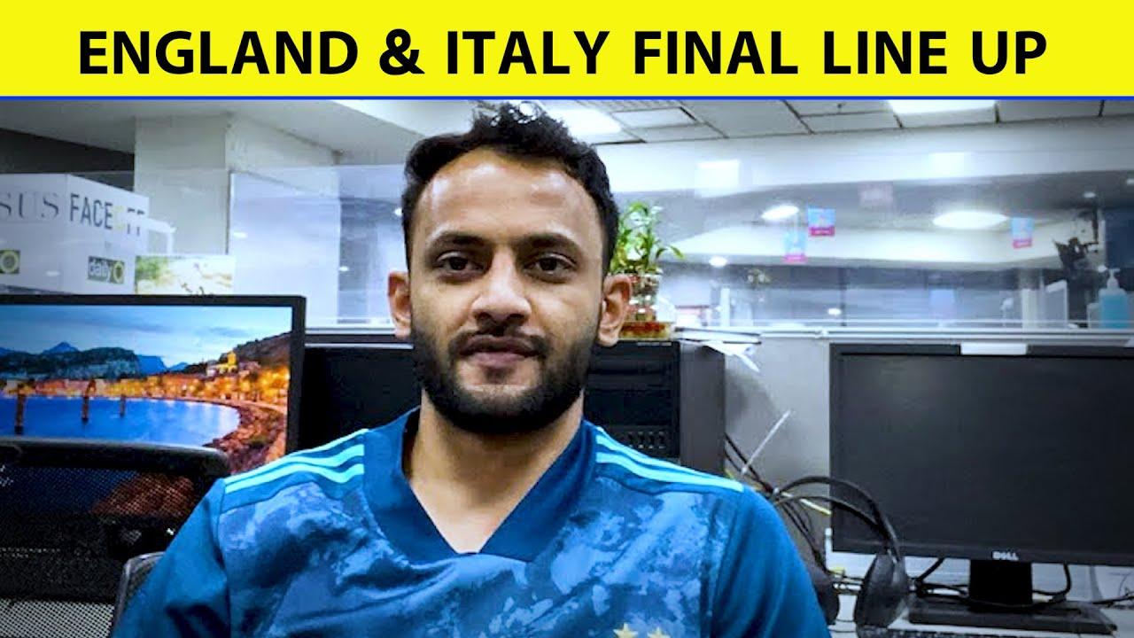 Live Euro 2020: ENGLAND & ITALY FINAL LINE UP|Sports Tak