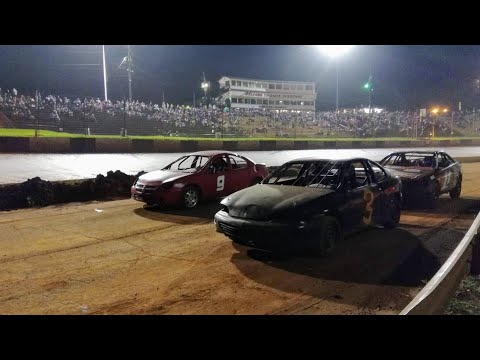 """Contact was made! @ Dixie Speedway (we """"WRECKED"""" the car)"""