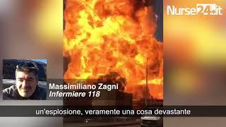 Bologna, infermiere racconta l'inferno dopo l'esplosione