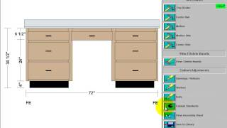 Build A Desk In Cabinet Solutions Software