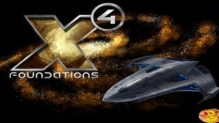 X4 FOUNDATIONS - В ПОИСКАХ ПРИКЛЮЧЕНИЙ - НАШЕЛ ОГРОМНЫЙ КОРАБЛЬ