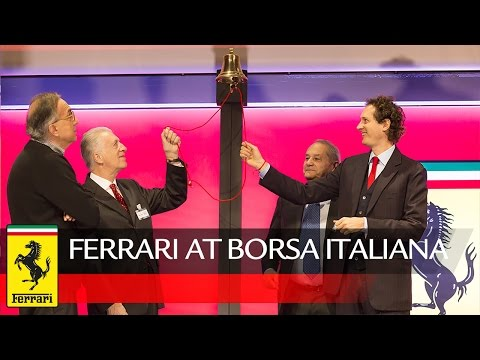 Ferrari lists with the ticker symbol RACE on the Italian Stock Exchange