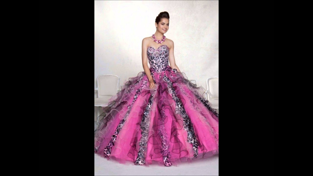 Vestidos De Quince Años Rosa - Temporada 2014 - YouTube