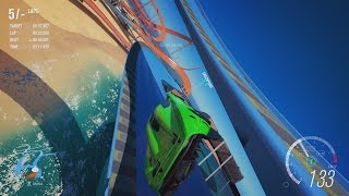 Forza Horizon 3 - Clean Shortcut on Half-Pipe Speedway (Hot Wheels Rival Mode)