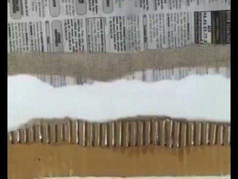 Collage facile sur tableau avec du bindex youtube - Tableau facile et rapide a realiser ...