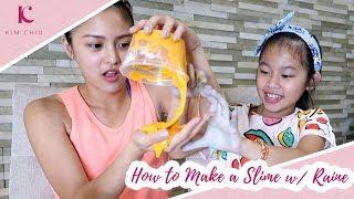 How to Make a Slime w/ Raine | Kim Chiu PH