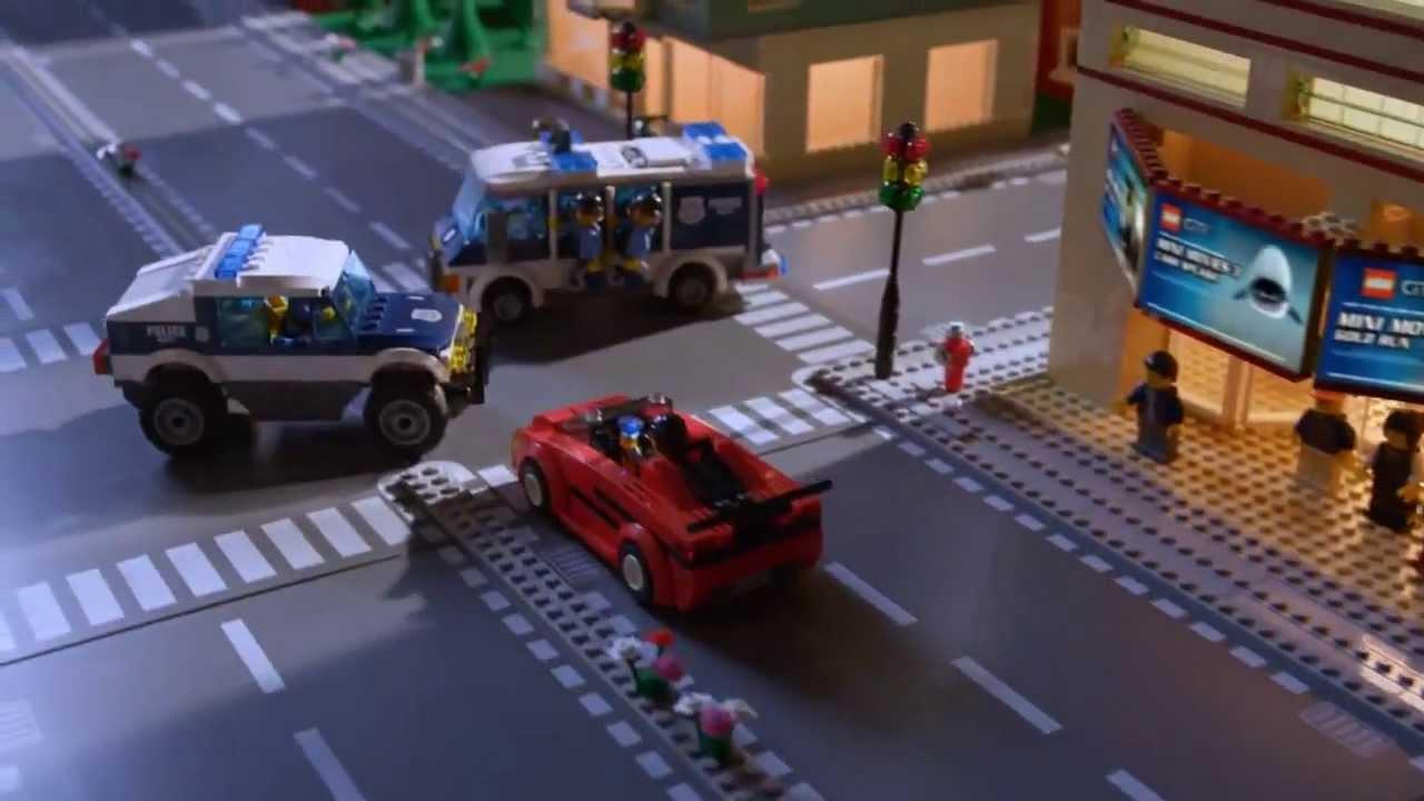 Lego City Reklama Tv Policji Do Zadań Specjalnych Youtube