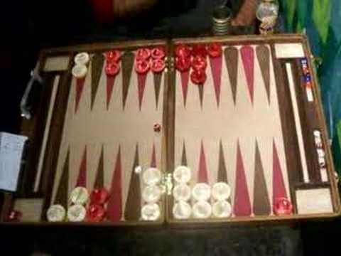 Santa Barbara Backgammon Finals Game 3
