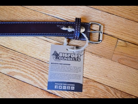 BigFoot Gun Belt review