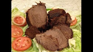 Hunter Beef (pastrami) In Pressure Cooker - Pakistani/ Indian Cooking With Atiya