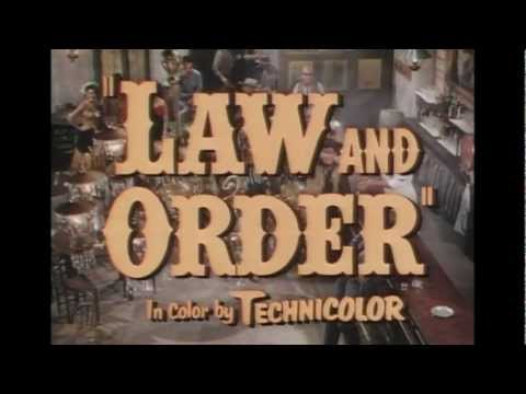 1953 - Law and Order - Quand la Poudre Parle streaming vf
