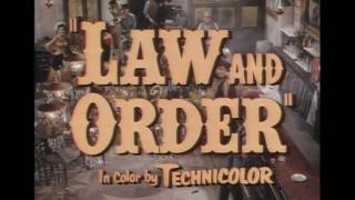 1953 - Law and Order - Quand la Poudre Parle