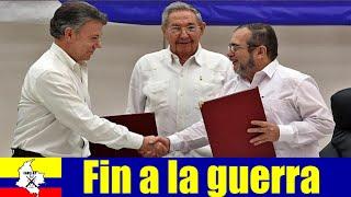 Colombia y las FARC ponen fin a 50 años de guerra armada