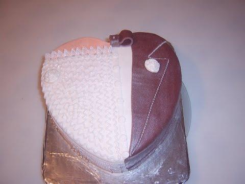 Торт Жених и невеста - YouTube