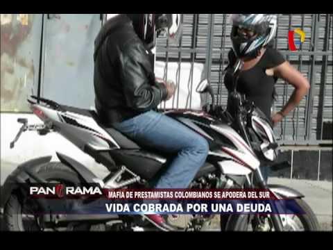 Vida cobrada por deudas: Mafia de prestamistas colombianos toma el sur
