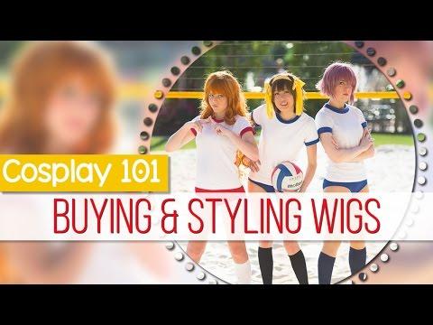 Cosplay 101: Buying and Styling Wigs || MangoSirene