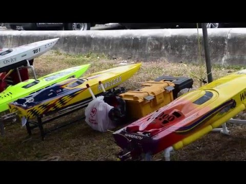 Trinidad and Tobago Model Power Boat Club Race Day