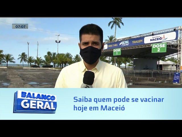 Covid-19: Saiba quem pode se vacinar em Maceió