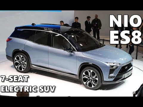 NIO ES8 Electric SUV Highlights and Features - YouTube
