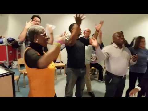 Streetwise Opera London singing Brazilian song