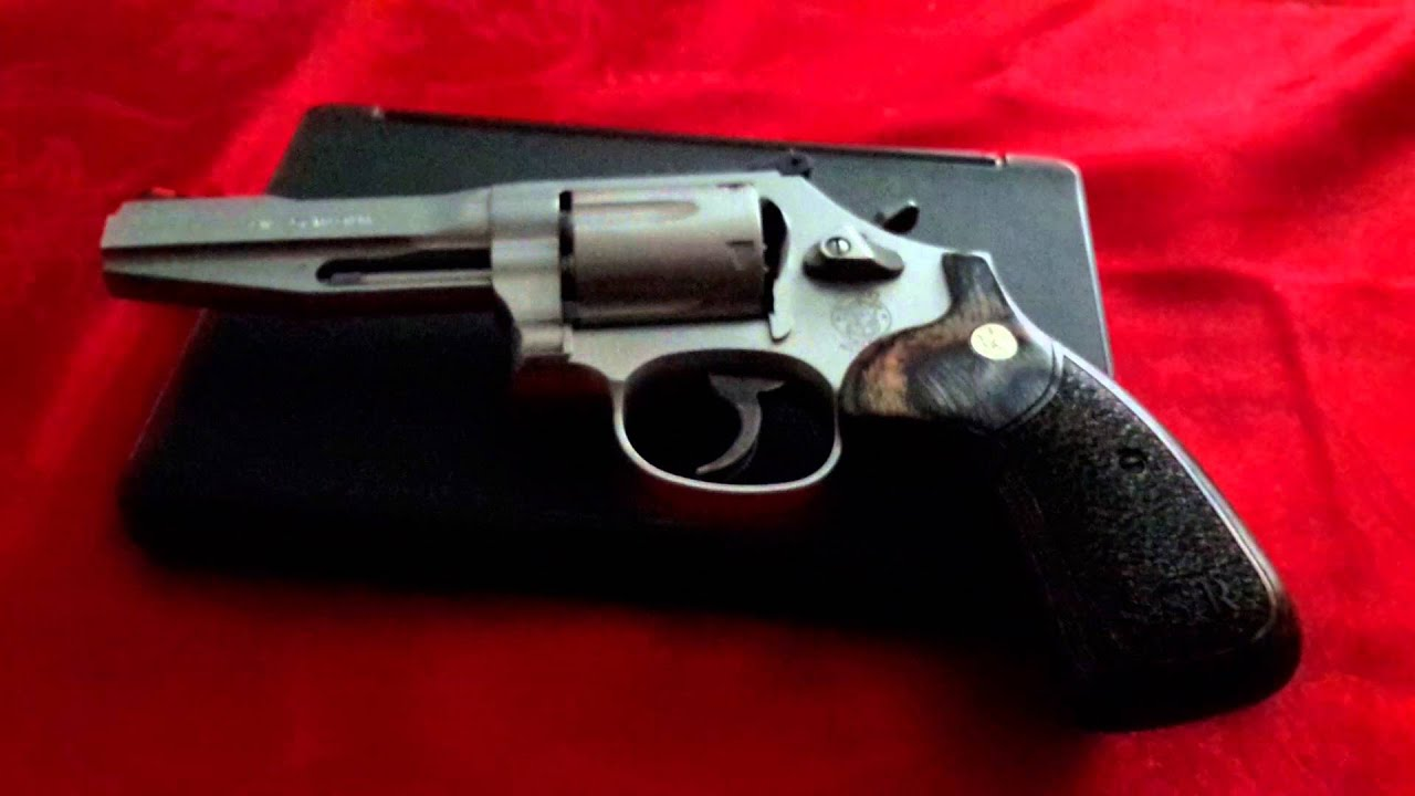 SSR 686 357 Magnum Revolver By Smith And Wesson