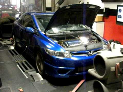 National Speed Kory S 2006 Honda Civic Si Greddy Turbo