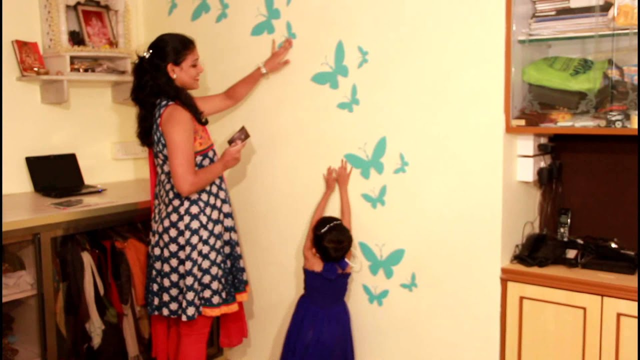 Asian Paints My Favorite Spot Butterfly - YouTube