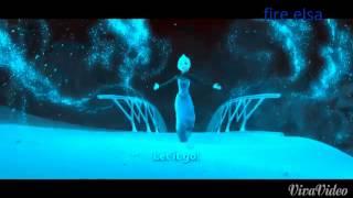 Fire Elsa Let It Go