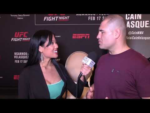 CAIN VELASQUEZ ON WHAT TRIGGERED RETURN; CORMIER VS LESNAR; STIPE: AFTER JDS LOSS, I DIDN'T CRY