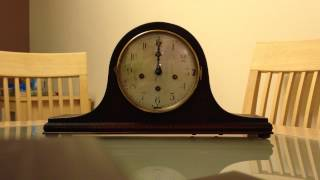 Peerless Triple Chime Napolean Hat Mantle Clock - Westminster From Front