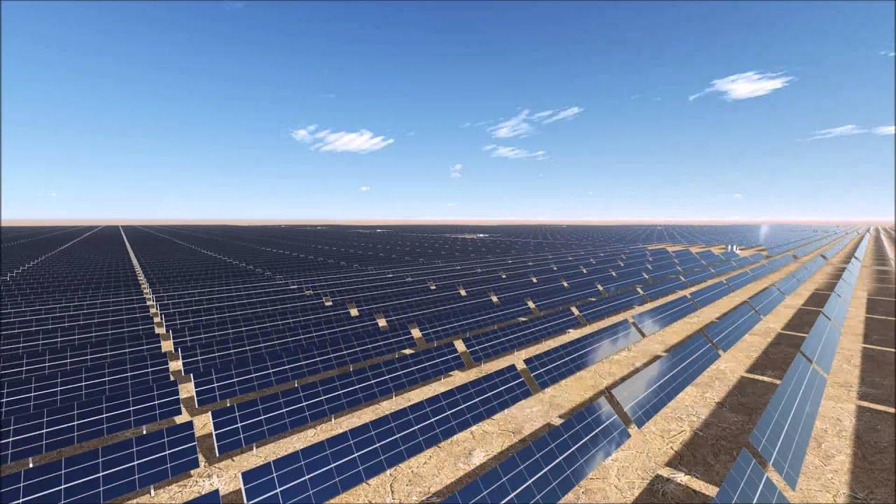 Shams Ma An Solar Plant Youtube