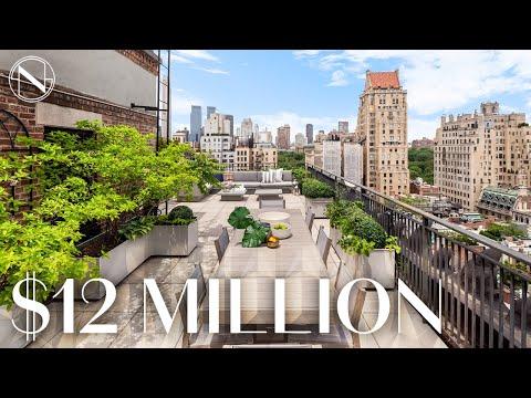 Inside A $12 MILLION Penthouse Duplex With Central Park Views