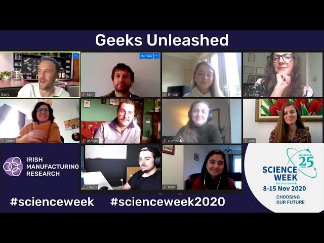 Science Week 2020: Geeks Unleashed