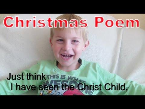 Weihnachten-Denkt Euch, Ich Habe Das Christkind Gesehen - Kanal Für Kinder / Kinderkanal