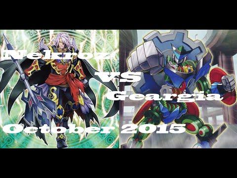 Nekroz VS Geargia October 15th 2015 Finals
