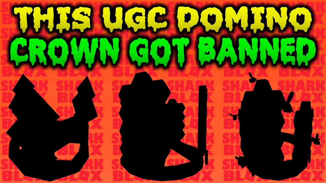 Ugc Domino Crown Updated 3 Times Then Got Banned Roblox Youtube