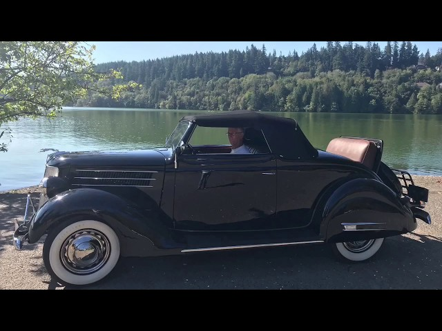 """S1 E2 """"RESTORED RIDES"""" — Marc Luce's 1936 Ford Cabriolet"""