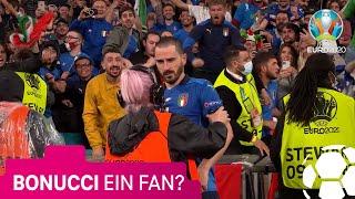 Bonucci wird für einen Fan gehalten | UEFA EURO 2020