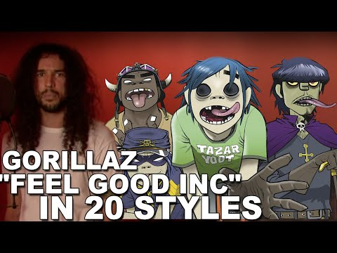 Gorillaz - Feel Good Inc | Ten Second Songs 20 Style Cover